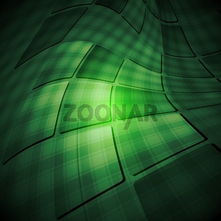 Dark green abstract background. Vector tech design eps 10
