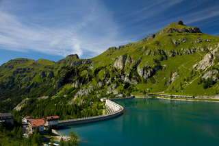 Lake Fedaia