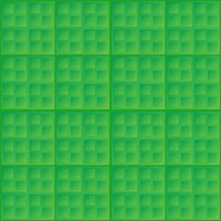 Abstract green seamless pattern - square tiles