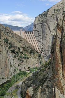 Embalse de Escales reservoir
