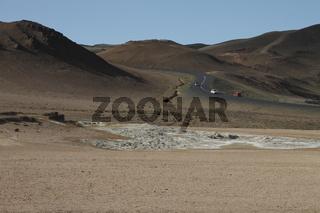 Námafjall hill. Mývatn Region