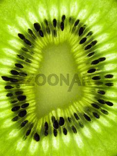 Kiwifrucht im Detail