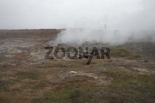 Gunnuhver geothermal field. Reykjanes Peninsula