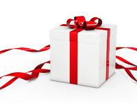 white christmas gift