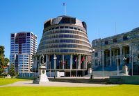 BEEHIVE PARLIAMENT BUILDING, WELLINGTON