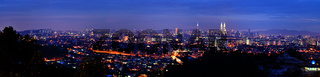 Panorama Kuala Lumpur.