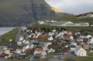 Eiði village. Eysturoy