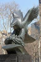 Battery Park, Manhattan in New York City (USA)