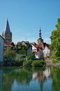 Stadtansicht von Soest, NRW, Deutschland