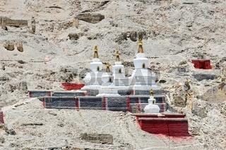 Stupa   Kloster Sakya  Shigatse Tibet China.