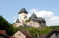 Karlštejn Castle in the Czech Republic