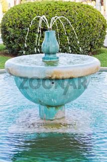 Ausschnitt Springbrunnen
