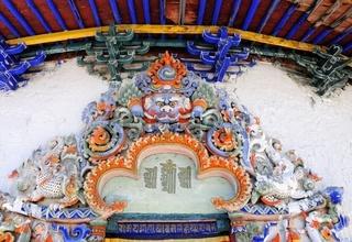 Mystik Tsuklahang-Tempel Gyantse Tibet China