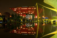 SHANGHAI - MAY 24: The China Pavilion in World Exposition on May 24
