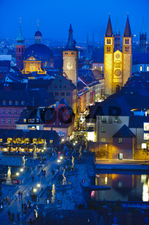 Würzburg am Abend