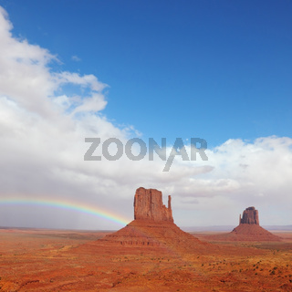 Monument Valley in the autumn
