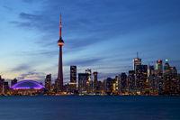 Nightly Toronto Skyline