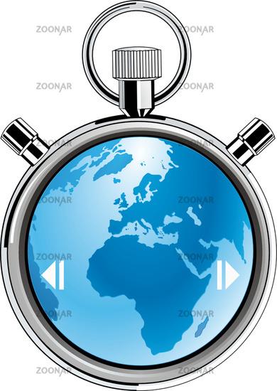 stopwatch earth
