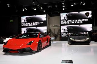 Lamborghini auf der IAA