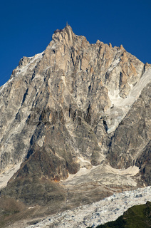 Aiguille du Midi bei Chamonix, Frankreich