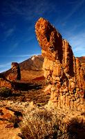 Volcano Teide with rock formations