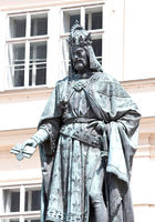 Statue of Charles IV. in Prague