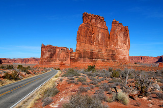 Courthouse Towers of Utah