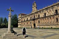 Spain: Plaza de San Marcos in Leon
