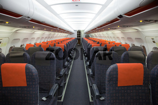 Die Airbus Kabine