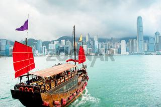 Sailing in Hong Kong