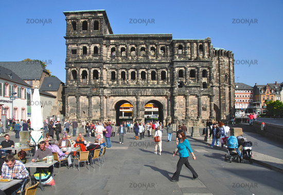 the roman Porta Nigra,Trier,Mosel valley,Germany