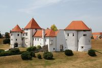 Baroque town of Varazdin old citadel