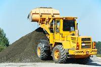 heavy construction loader