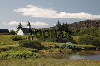 Þingvallakirkja (The church in Þingvellir)