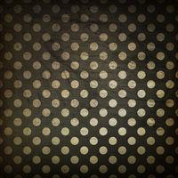 Black polka dot grunge background