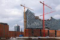 construction site of the Elbphilharmonie Hamburg