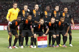 Hungary vs. Netherlands football game
