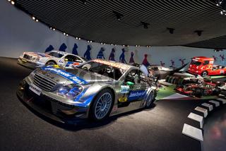 AMG Mercedes C-Klasse DTM-Tourenwagen im Mercedes Benz Museum Stuttgart
