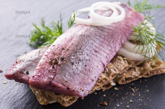 herring marinated