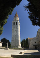 CAmpanile of the Cathedral of Aquileia, Italy