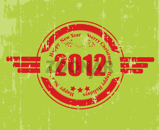 A rubber stamp for 2012