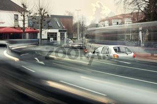 fliessender Verkehr