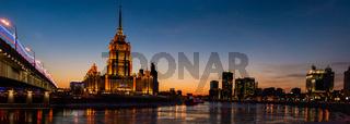 Panoramic View Of Hotel Ukraine