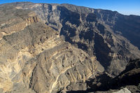 Grand Canyon of Oman, Al Hajar Mountains,Oman