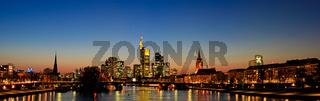 Großes Panorama - Frankfurt Sykline