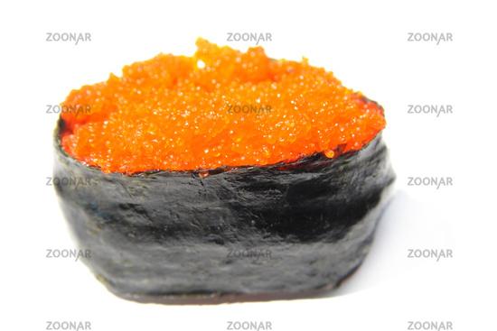 Photo Tobiko Sushi, flying fish eggs sushi Image #4061629