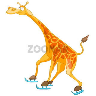 Cartoon Character Giraffe