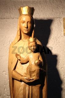 Eine Marienfigur