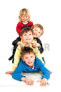 Spielende Kinder