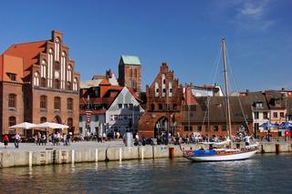 Der alte Hafen in Wismar